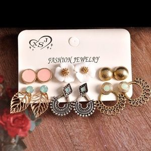 6 Sets of Gorgeous Earrings